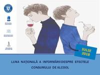 Iulie 2018 - Luna națională a informării despre efectele consumului de alcool