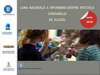 Iunie 2019 - Luna națională a informării despre efectele consumului de alcool