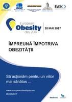 20 mai 2017 - Ziua Europeană Împotriva Obezităţii (ZEIO)