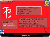 24 martie 2014 - Ziua Mondială de Luptă împotriva Tuberculozei