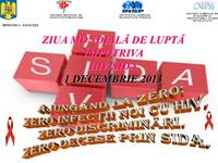 1 decembrie 2013 - Ziua Mondială HIV-SIDA