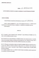 Ordinul ministrului sănătăţii nr. 601/12.06.2012